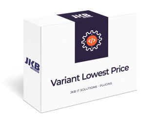 Shopware Variant Lowest Price
